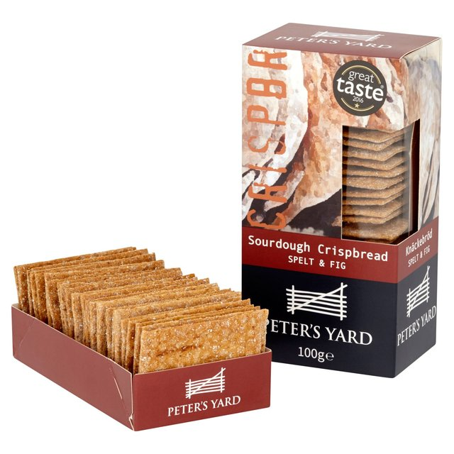Peters Yard sourdough crispbread Spelt & Fig 100g